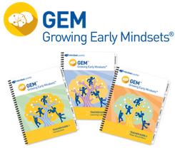GEM – Growing Early Mindsets elementary school program for grades pre-k to 3